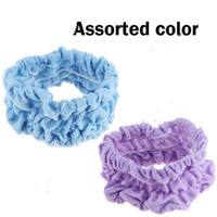 Wholesale Broad Hair Bands - Wholesale-Sunkie Lovely Elastic Broad Hair Band Hair Belt Headband Head Band for Women Girl - Color Assorted HLI-136068