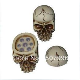 Wholesale Skull Ink Cap - 1pc Yellow Skull Tattoo Ink Cap Cup Holder Stand For Tattoo Ink Cup Tattoo Ink Pigment D-1047