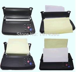 Wholesale Tattoo Print Machine - NEW Design Tattoo Transfer Machine Tattoo Thermal Copier Transfer Printing A4