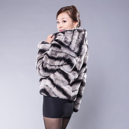 Discount Rex Rabbit Fur Coat Chinchilla | 2017 Rex Rabbit Fur Coat ...