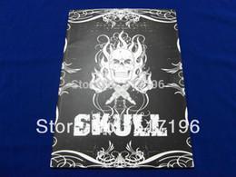 "Wholesale Flower Tattoo Books - Free Shipping 2015 New Skull Tattoo Flash Book Tatoo Designs Sketch Death Skulls Art Flower 76 pages 11"""