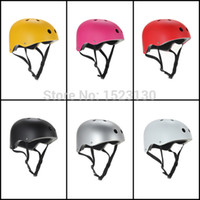 Wholesale Bike Skate Helmets - Wholesale-BMX Bike Bicycle Cycling Protective Scooter Roller Snow Skate Helmet Kid Adult M