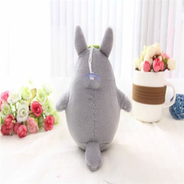 Wholesale Cheapest Stuffed Animals - Wholesale-Cheapest Price Factory 15cm Totoro Plush Toy Cartoon Animal Car Pendant Hobbies Stuffed Kids Wedding Birthday Kids Gift TY234