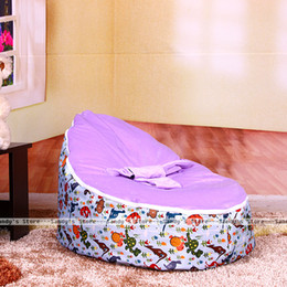 Wholesale Beanbag Free Shipping - Wholesale-Sandy's Store#With Filler!!!!!Free Shipping Lovely Animal Baby Seat,Baby Bean Bag Chair,Beanbag,Sofa