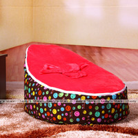 Wholesale Baby Bean Bag Covers - Wholesale-With Filler hot selling Baby Bean Bag Free Shipping With 2 Top Covers