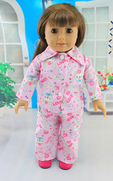 """Wholesale Dress Girls Styling - Wholesale-Free shipping!!! hot 2015 new style Popular 18"""" American girl doll clothes dress Christmas gift101"""
