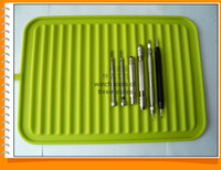 Wholesale Cheap Watch Repair Tools - Wholesale-Wholesale Green color Ridged mats for tools Watch tools non-slip mat Exclusive sales Cheap watch repair tools free shipping