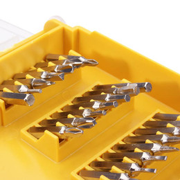 Wholesale Top Quality Screwdrivers - Wholesale-Brand New Top Quality 32pcs Portable Watch Screwdriver Repair Tool set