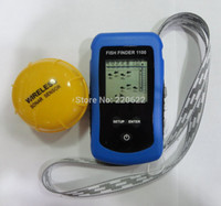 Wholesale Sonar Equipment - Wholesale-Wholesale Wireless sonar fish finder fishing equipment fish finder portable Black and white screen fish finder