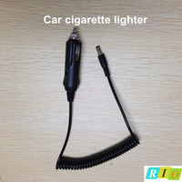 Wholesale Car Charger Extension Cord - Wholesale-Portable 12V Car Cigarette lighter plug cable with DC 5.5mm*2.1mm male connector for car charger Extension Cable Socket Cord 5ft