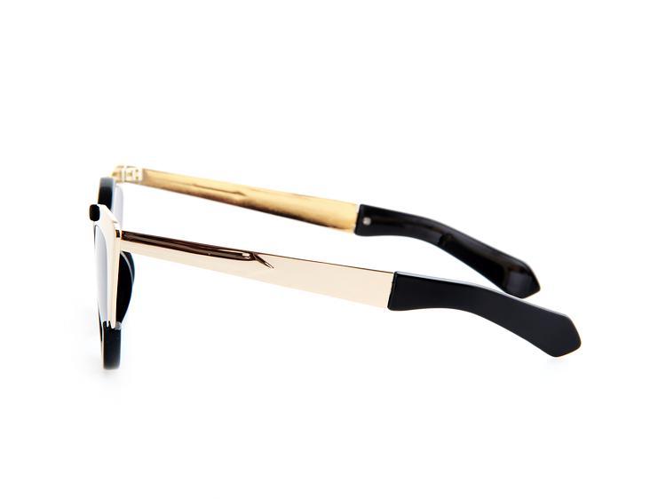 Оптовая продажа-AEVOGUE новые Cat Eye бренд солнцезащитные очки Женщины горячий продавать сплав рамка стрелка украшения солнцезащитные очки Oculos UV400 AE0223