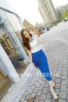 Wholesale Womens Business Skirts - 2015 New Womens OL Wear Work Business Casual Sexy Slim Pencil Skirts Midi Skirts Split Skirts Free Shipping