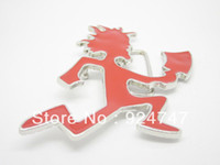 Wholesale Red Hatchet Man Belt Buckle