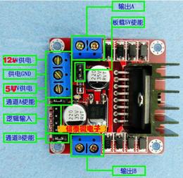 Wholesale Arduino L298n Module - Wholesale-New Dual H Bridge DC Stepper Motor Drive Controller Board Module L298N for Arduino Free Shipping TK0450 30348