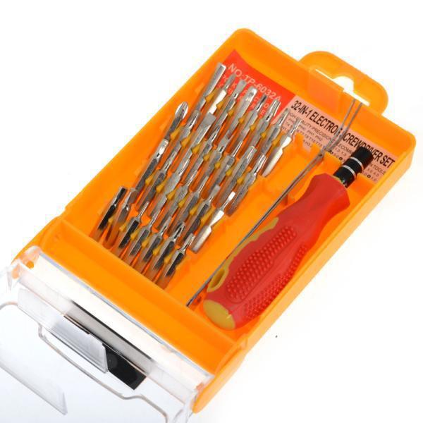 Wholesale-32 in 1 Set Precision Schraubendreher Reparatur Kit Micro Pocket Precision Schraubendreher Kits Magnetic Schraubendreher Handy Repair Tool