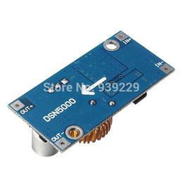 Wholesale Adjustable Power Regulator - Wholesale-High Quality 5A DC-DC Adjustable Step Down Module Power Supply Converter 1.25-36V Free Shipping