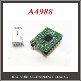 Wholesale A4988 Stepper Motor Driver D Printer driver Module Reprap board with Heatsink