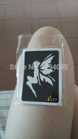 Wholesale Tattoo Picture Stencils - 900 choosable styles reusable airbrush tattoo stencil painting henna tattoo pictures designs fake tattoo stencil