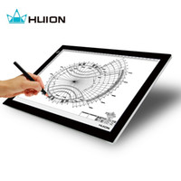 Wholesale Thin Usb Cable - Huion Ultra Thin And Light 17.7 Inches LED Artcraft Tracing Light Pad Light Box with USB cable - L4S