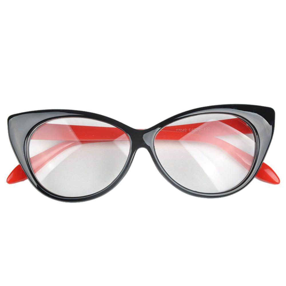 f1fe6c60710d 2019 Wholesale NEW 2017 Eye Styling Leopard Eyeglasses Frame Women Brand  Plain Eye Frame Spectacle Cat Eye Glasses Birthday Gift From Goodlines, ...