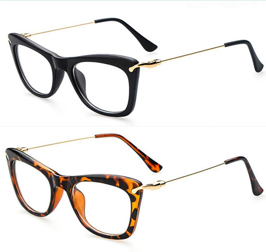 4f611ea28364 2019 Wholesale Fashion Eye Glasses Frames For Women 2015 Vogue Plain Mirror Eyeglasses  Women Optical Frame Glasses Computer Oculos De Grau G421 From ...