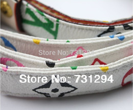 Wholesale-pet harness and collar The  dog harness and collars New Pet Dog Leash Colorful letters pet traction rope