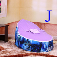 Wholesale Hot Selling Comfortable Boys Baby Soft Seats Easy Convenient Installation Toddler Bean Bag Newborn Seat Sofa Fabric Sofa Sale