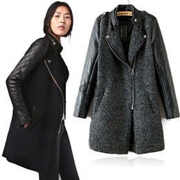 Womens Faux Leather Trench Coats Online | Womens Faux Leather ...