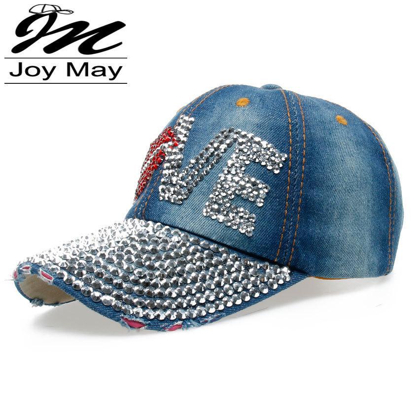 8298b757567 High Quality JoyMay Hat Cap Fashion Leisure Woman Cap Love Lips ...