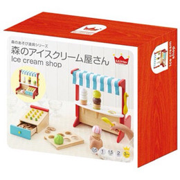 Wholesale Boys Toys Store - Wholesale-New Arrived Japan Ed.Inter 2 In1 Cash Register + Ice Cream Store Wooden Toys Pretend Play Baby Toys Birthday Gift