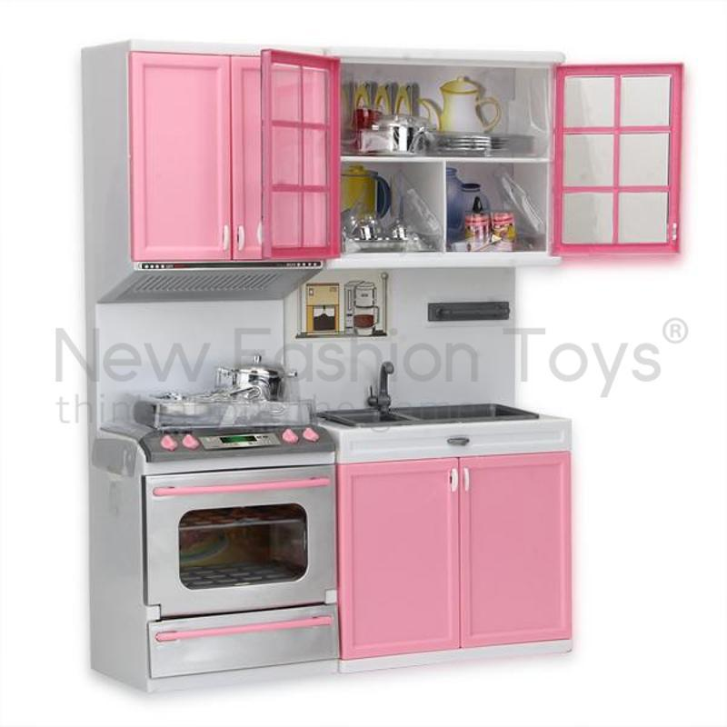 Charming 2018 Wholesale Mini Kids Kitchen Pretend Play Cooking Set Cabinet Stove Toy Pink  Kid Gift Present Christmas From Kltao01, $56.96 | Dhgate.Com