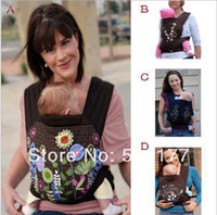 Wholesale Classic flower baby carrier baby Sling Toddler wrap baby backpack high grade Baby suspenders