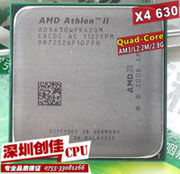 Wholesale Amd Athlon Ii X4 Cpu - Wholesale-shipping free Amd ii Athlon x4 630 quad-core scattered pieces cpu am3 2.8G 2M cpu quad-core processor