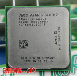 Wholesale Dual Core Amd Cpu - Wholesale-Free shipping AMD DUAL Core Athlon 64 X2 6000+ 3.0 GHZ Socket AM2 2mb cache CPU processor scrattered pieces processor