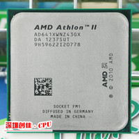 Wholesale Amd Athlon Ii X4 Cpu - Wholesale-Free shipping For AMD Athlon II X4 641 FM1 2.8GHz 4MB CPU bulk Quad-Core scrattered pieces