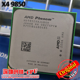 Wholesale Amd X4 Am2 - Wholesale-Free Shipping AMD CPU Phenom X4 9850 processor 2.5G K10 Socket AM2+  940 Pin  Dual-CORE   2MB L3 Cache  scattered piece