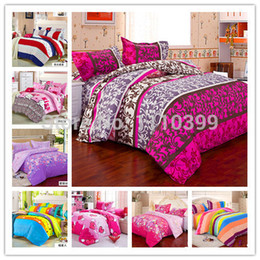 Wholesale King Doona Covers - Wholesale-Home textile,Reactive Print 3 4Pcs bedding sets luxury Full Queen King Size Bed Quilt Doona Duvet Cover Pillow cases Set New