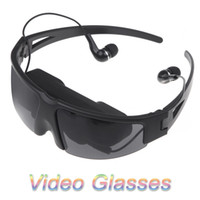 """Wholesale Iphone Video Eyewear - Wholesale-New Arrival!! 52""""Portable Eyewear virtual Video Glasses for Pod iPhone PMP Play games with PS2 PS3 XBOX Wii movies cenima"""