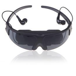 Großhandel Großhandels-Strahlung-freie LCD Eyewear virtuelle 52 Zoll 4: 3 Großbild-Video-Brille für PS2 / PS3 / XBOX / Wii / Filme cenima