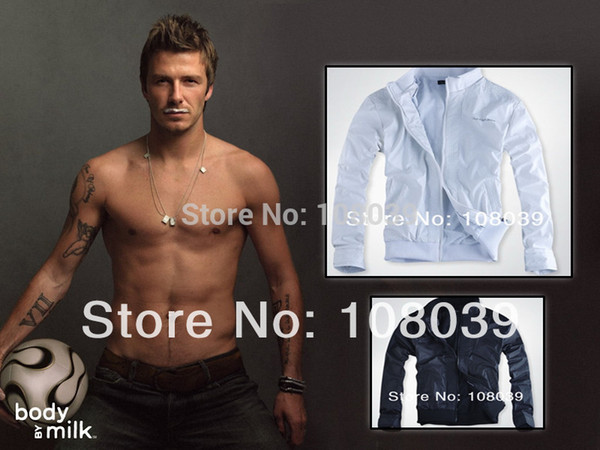 Free Shipping New Design Men's Popular Thin Breathable Zipper Hoodie Jacket Male Fashion Casual Sport Outwear Coat Black White