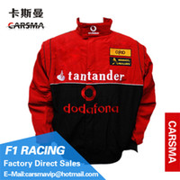Cheap CARSMA Wholesale customized F1 Racing Suit Activities Motorcycle jacket Rally Events Formula One racing RJ001-7 Europe size