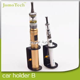 Wholesale Ego W Accessories - Wholesale-Vaporizer Accessories E Cigarette Car Holder Stand Black Acrylic w  Adhesive Tape Ecig Display Stand for Ego EVOD Mechanical Mod