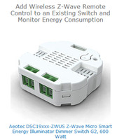 Wholesale Z Waves - Wholesale-z-wave smart switch EU AU US frequency home automation Aeon Labs DSC19103 Aeotec Z-Wave Micro Smart Energy Dimmer, 2nd Edition