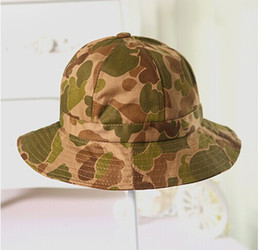 Wholesale Wholesale Camo Beanies - Wholesale-Camping hiking beanies sun protection boonie womens bonnets dome hunting camo bucket hats free shipping
