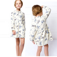 Wholesale Nova Tunic - Wholesale-Nova children casua girl's fashion blouse Kid clothing autumn hot sell baby clothes tunic top girls shirt