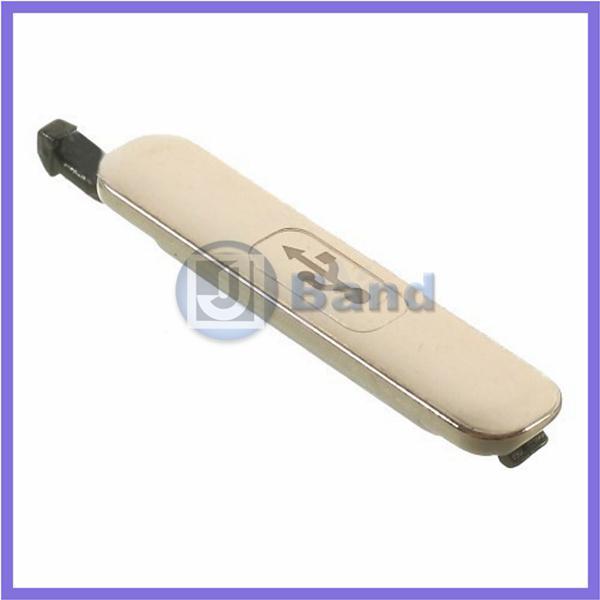 Couvercle étanche pour prise de charge du port de charge USB gros-or pour Galaxy S5 SV I9600 G9005 G900A G900A + Kits d'installation