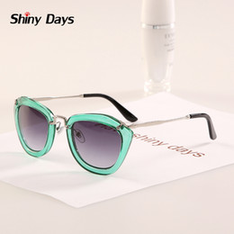 Wholesale Novelty Glasses Eyes - Wholesale-2015 new 6 colors Nice fashion cute Super Quality Novelty sunglasses brand designer women sun glasses oculos de sol N266
