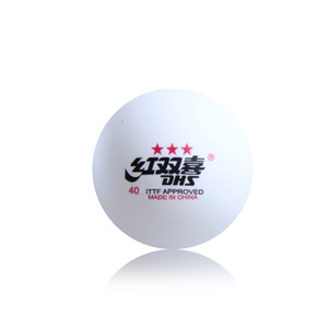 Wholesale table tennis balls dhs resale online - Stars mm DHS DOUBLE HAPPINESS Table Ttennis Ball Olympic Table Tennis White Balls G