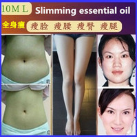 Wholesale Slim Leg Oil - Wholesale-Slimming essential oil thin leg essential oil thin waist face-lift weight loss oil burning fat thin face lose weight product