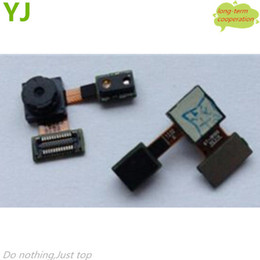 Wholesale S2 Cable Camera - Wholesale-Free shipping Original New for Samsung Galaxy S2 i9100 Front Small Camera Module Flex Ribbon Cable